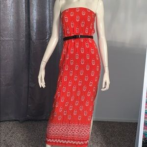 Old Navy strapless cute long dress
